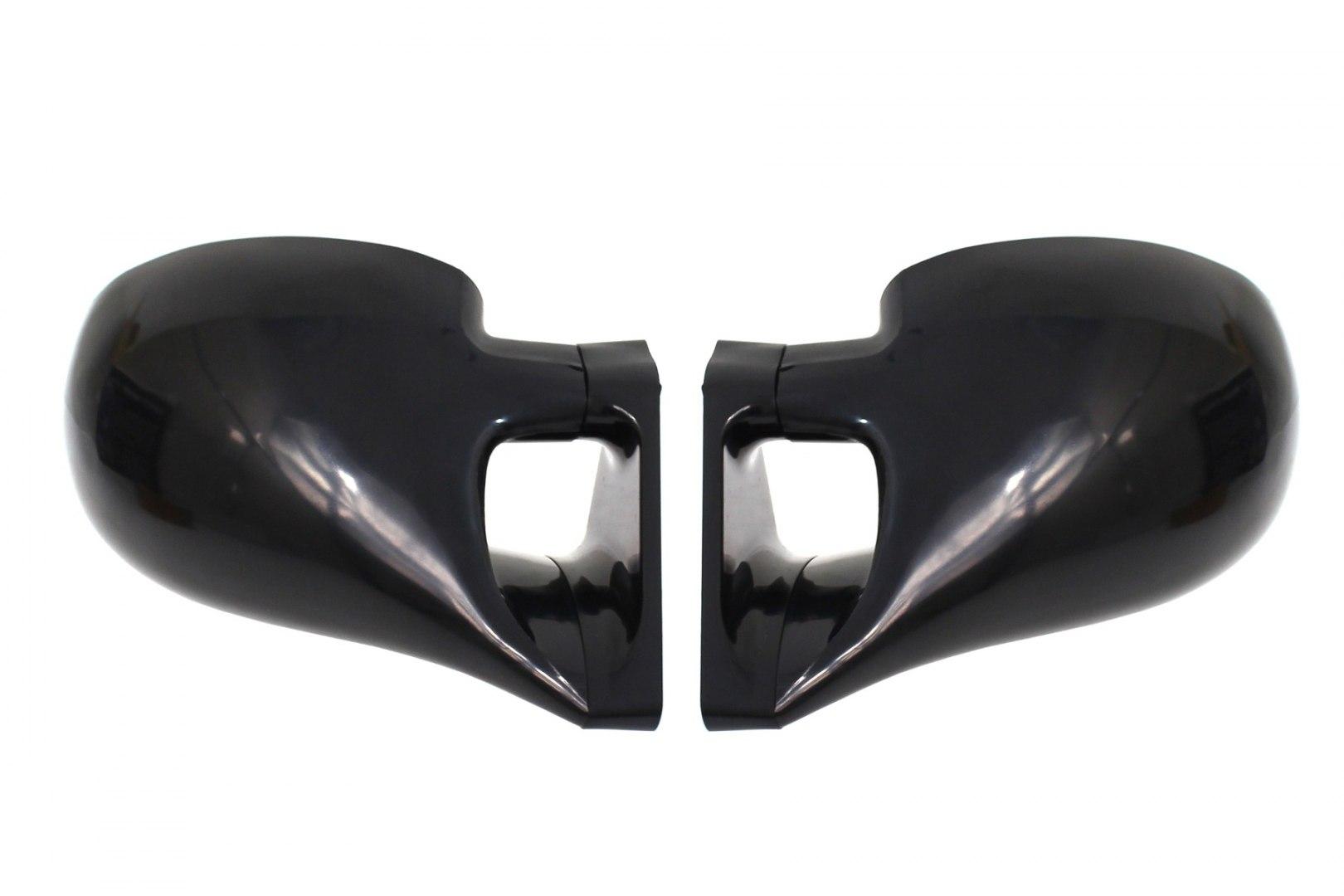 Lusterka Uniwersalne M3 Look Sport ABS Black Manual Blue Glass - GRUBYGARAGE - Sklep Tuningowy